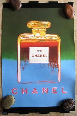 Andy Warhol Vintage Chanel No 5 Perfume Advertising Pop Art Print Poster MoMa