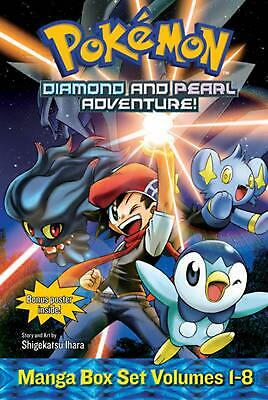 Pokemon Diamond and Pearl Adventure! Box Set by Shigekatsu Ihara Paperback Book