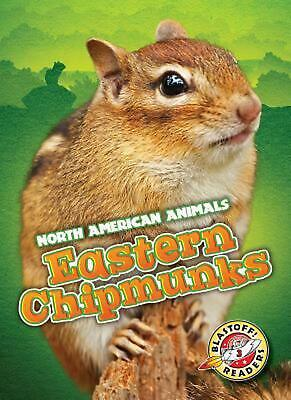 Eastern Chipmunks by Chris Bowman (English) Hardcover Book Free Shipping!