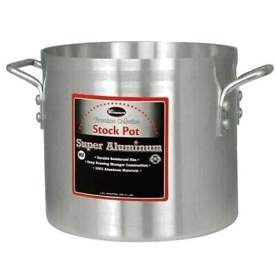 Winco AXS-12 12qt Professional Super Aluminum Stock Pot