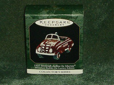 Hallmark 1999 1937 Steelcraft Airflow by Murray - Miniature Ornament  NEW