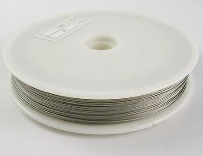 Tiger tail beading wire 0.45mm thick nylon coated $1 off case cracked wire good