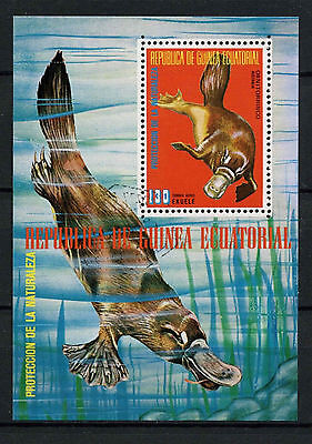 Equatorial Guinea 1970's Nature Protection Cto Used M/S #A92626