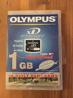 Olympus 1GB XD eXtrme Digital Picture M+ Memory Card for Olympus Fujifilm NEW