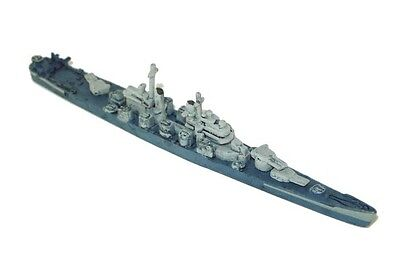 War at Sea miniatures 1x x1 USS Quincy (CA 71) Set V Fleet Command NM with card