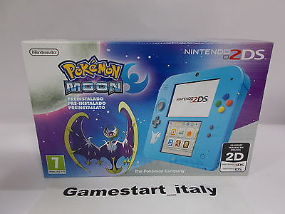 Console Nintendo 2Ds Pokemon Moon Edition - New Pal Version - Game Pre-Installed