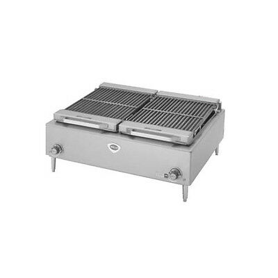 """Wells B-50-240 36"""" Electric Countertop Charbroiler - 240v"""