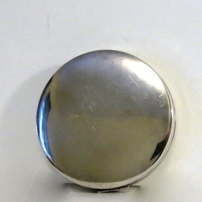 Vintage Sterling Silver Compact Birmingham 1945