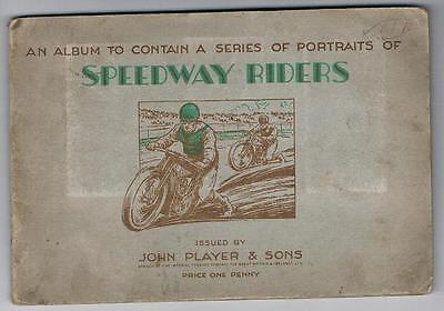 1937 John Player & Sons Speedway Riders Tobacco Cards Full Set In Album