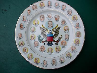 "Collector Plate -Souvenir President Carter Plate -1977 ""200 Years. Of Presidents"