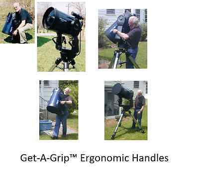 Get-A-Grip handles specifically designed for Meade's LX200GPS, LX200R, RCX400