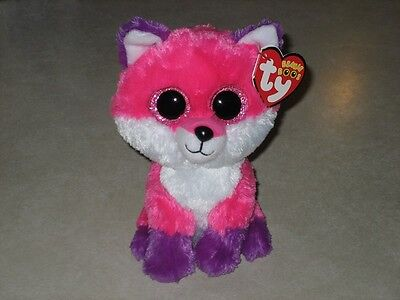 """ty BEANIE BOO BABIES JOEY the FOX 2016 CLAIRE'S EXCL 6"""" MWMT SAME DAY SHIPPING"""