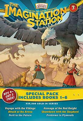 Imagination Station Special Pack: Books 1-6 by Paul McCusker (English) Paperback