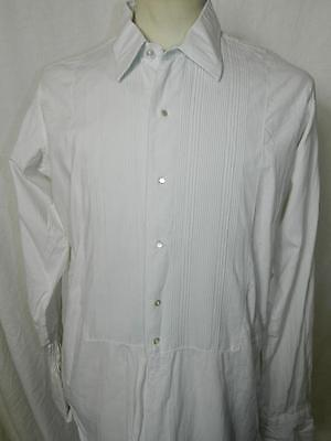 """Mens Vtg 1950's/60's Rocola evening/dress shirt original with pearly buttons 16"""""""