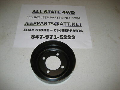 NEW NOS OEM Water Pump Pulley FOR 87-01 XJ CHEROKEE /& COMANCHE 4.0L 2.5L