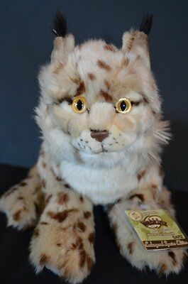 Webkinz Signature Iberian Lynx New with Sealed Code Tag NWT