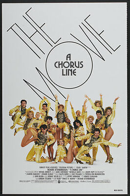 A Chorus Line 1985 Rolled Original Movie Poster #4-C-3