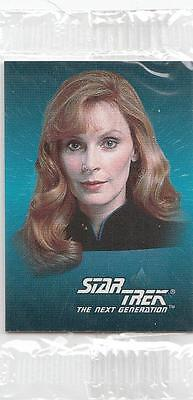 Star Trek 1993 Skybox & Frito Lay mini cards still in cello #7 Beverly Crusher
