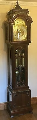 Antique Musical Tube Chiming Longcase Grandfather Clock RUSSELLS LIVERPOOL
