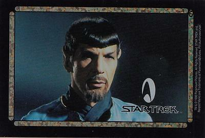 Star Trek TOS 1996 Vending Machine card/sticker with the Vulcan Garth?