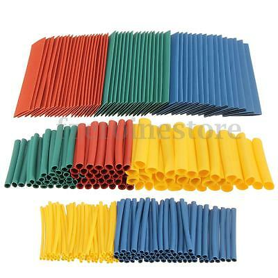 Soloop 260x Assortment Heat Shrink Sleeve Electrical Cable Wrap Wire Tube Tubing