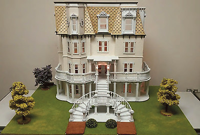 Dolls House Hegeler Carus Mansion 1:48 Scale Lazer Cut Flat Pack Kit