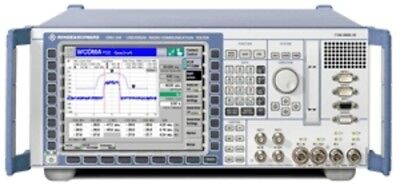 R&S CMU300-K31-K32-K33-B11-B12OCXO-B21-PCMCIA Communications Analyzer with optio