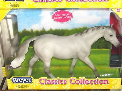 Breyer Classic Grey Selle Francais French Sport Horse NEW! #941