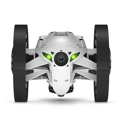 Parrot JUMPING SUMO Weiss In-/Outdoor MiniDrone Wi-Fi Video-Streaming