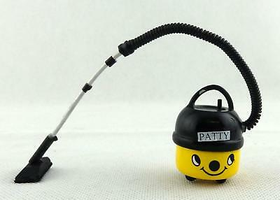 Dolls House Patty Hoover Yellow Vacuum Cleaner Miniature Modern 1:12 Accessory