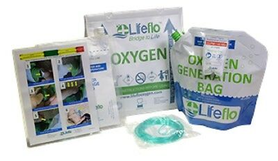 NEW Lifeflo Oxygen OTC Emergency Over the Counter Oxygen Generation System