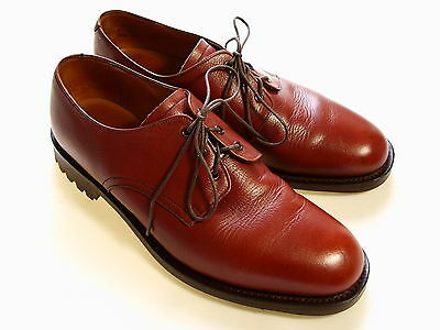 Mens Vtg K Country Shooting Hunting Goodyear Welt Leather Lace Up Shoes Uk 9