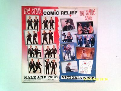 """Hale And Pace The Stonk / Victoria Wood Smile Song 7"""" Single 1991 N/mint"""