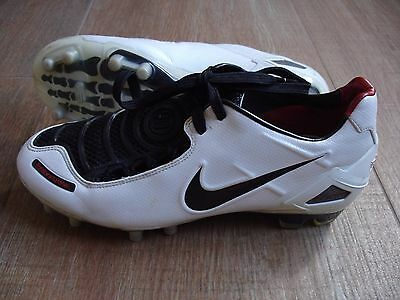 Nike Total 90 Laser I Fg White/black Us 6.5 Uk 6 Eur 39 Cm 24.5