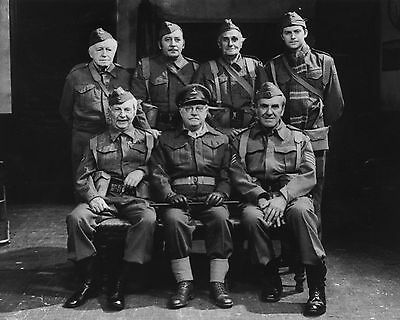 "Dads Army 10"" x 8"" Photograph no 6"