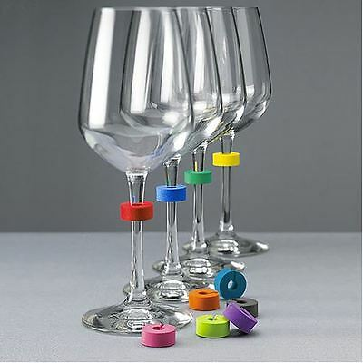 MoMA Stemmarkers, Set of 10 Glass Marker ID Charms Party Housewarming Necessity