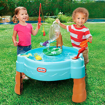 New Little Tikes Fish 'n Splash Water Table 637803M