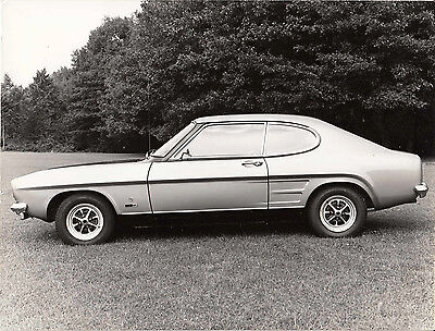 Ford Capri 1700 Gt Period Photograph.