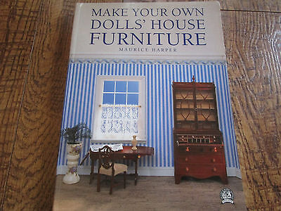 HOW TO Making/ MAKE YOUR OWN DOLL HOUSE FURNITURE / Maurice Harper