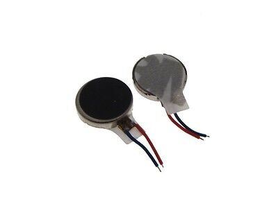 Pager Cell Phone Mobile Coin Flat Vibrating Micro Motor 10x2.7mm - Pack of 2