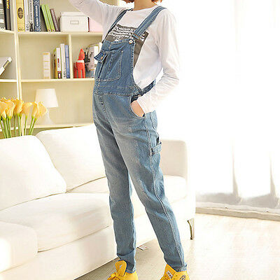 Newly Women Maternity Trousers Overalls Denim Belly Pants Casual Jeans Jumpsuits