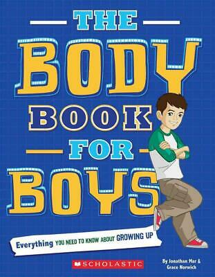 The Body Book for Boys by Jonathan Mar Paperback Book (English)