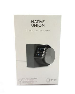 Native Union Dock for Apple Watch Space Gray DOCK-AW-SL-GRY New Open Box