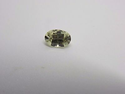 .37 Ct. Precision Oval Brilliant Cut Zultanite Loose Gem Certificat of Auth E003
