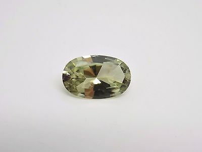 2.13 Ct. 11x7 Precision Oval Brilliant Cut Zultanite Loose Gem Cert of Auth E015