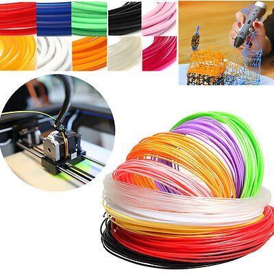 DIY 5M 3D Printer Filament 1.75mm 3mm ABS / PLA RepRap Sales Pen MakerBot NEW