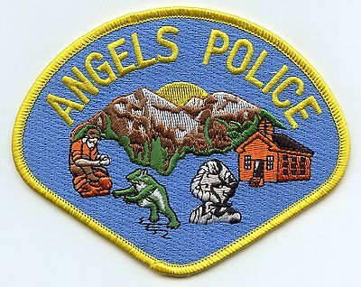 Angels California Ca Police Patch