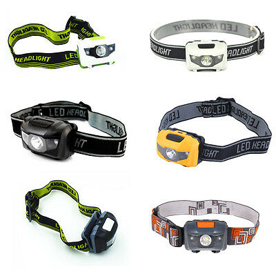 4 Mode Waterproof Headlamp R3+2 LED Headlight Head Torch Lamps 900Lm Light Lamp