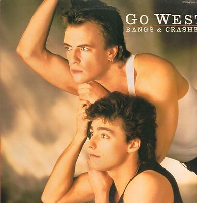 "Go West(12"" Vinyl)Bangs & Crashes-Chrysalis-WWS 63049-Japan-1985-VG+/NM"