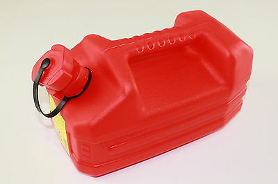 Fuel canister 5L + Spout Fuel Kanister Reserve canister UN approved